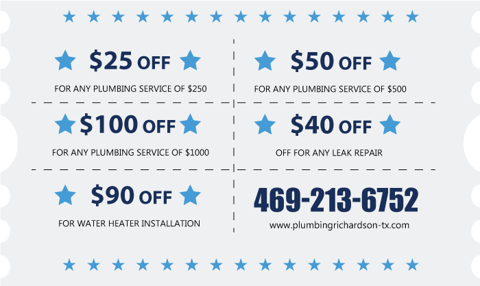 offer plumbing service richardson tx pro